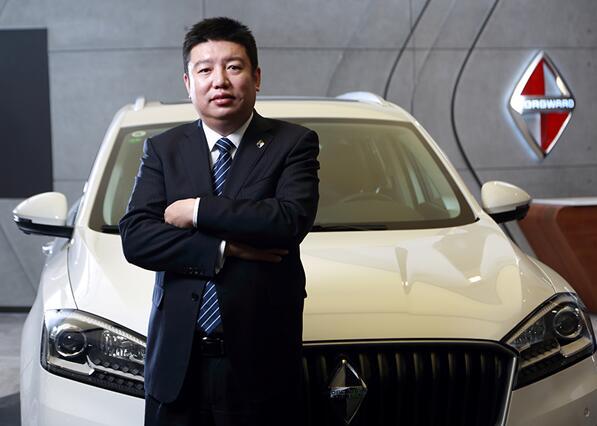 宝沃汽车(中国)副总裁兼营销公司总经理梁兆文图片